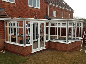 Conservatory before image