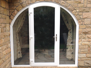 Patio doors to fit any shape of frame.