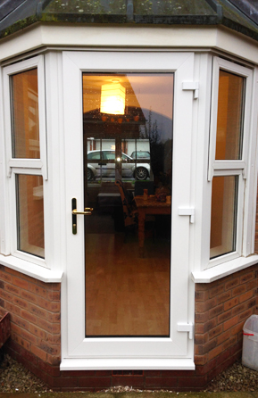 Update your existing French or patio doors or create a space where a window is.