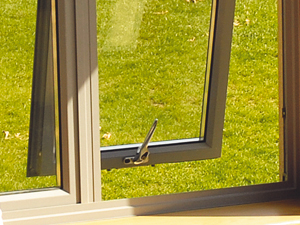 Secure windows with modern locking systems